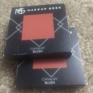 5/$50 Makeup Geek Blush